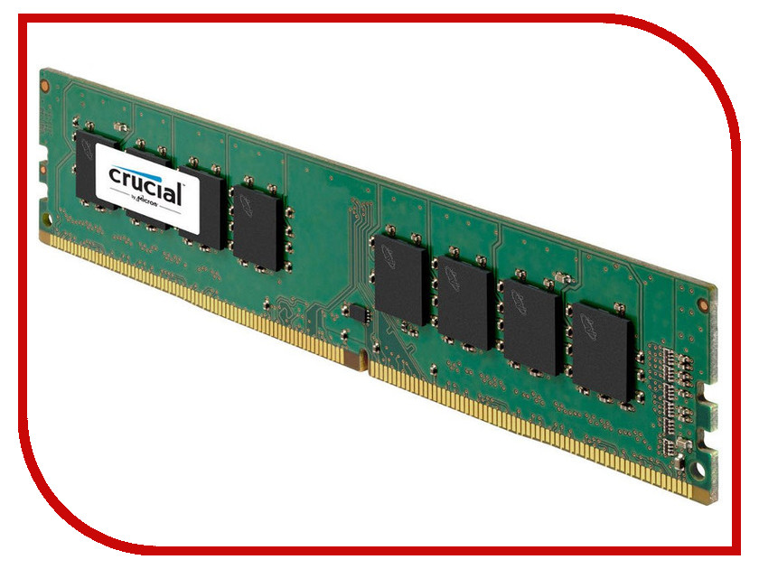 Модуль памяти Crucial DDR4 UDIMM 2133MHz PC4-17000 CL15 - 16Gb CT16G4DFD8213<br>