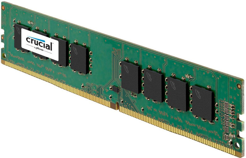 Модуль памяти Crucial DDR4 DIMM 2400MHz PC4-19200 CL17 - 16Gb CT16G4DFD824A