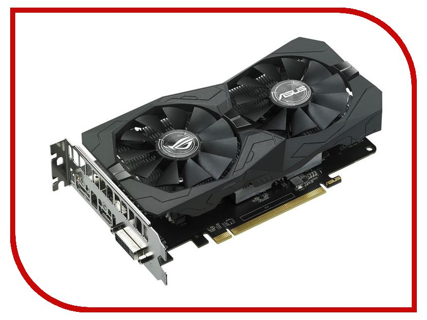 Видеокарта ASUS Radeon RX 460 1200Mhz PCI-E 3.0 4096Mb 7000Mhz 128-bit DVI HDMI HDCP STRIX-RX460-4G-GAMING<br>