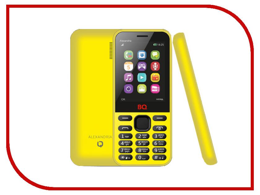 Сотовый телефон BQ BQM-2800 Alexandria Yellow