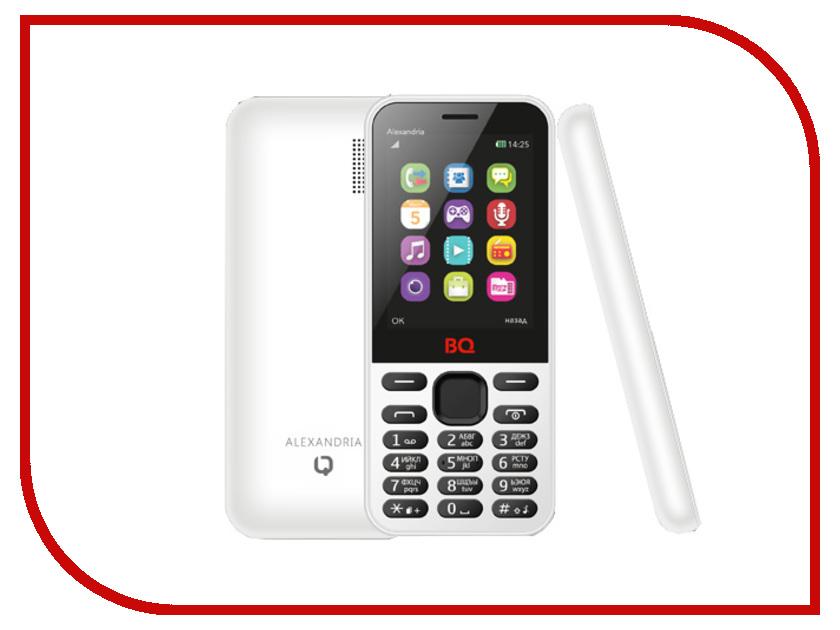 Zakazat.ru: Сотовый телефон BQ BQM-2800 Alexandria White