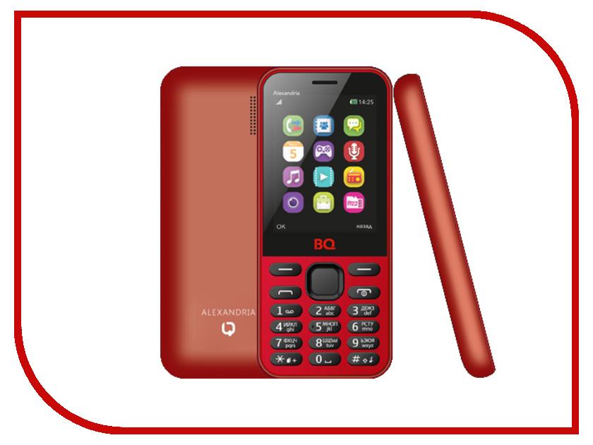 Сотовый телефон BQ BQM-2800 Alexandria Red