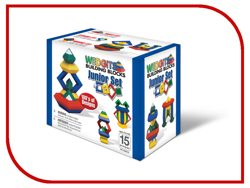 Игрушка Wedgits Junior Set 15 дет. 330010<br>