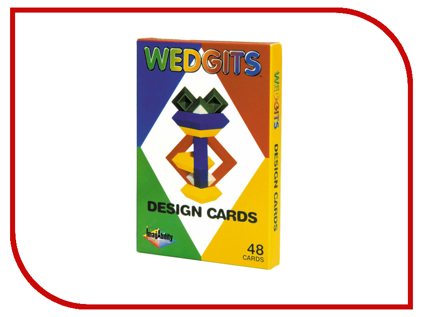 Игрушка Wedgits Junior Design Cards для Junior Set и Deluxe Set 300031<br>
