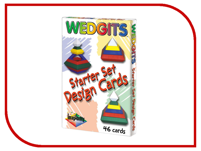 Игрушка Wedgits Starter Design Cards для Starter Set и Imagination Set 300032<br>