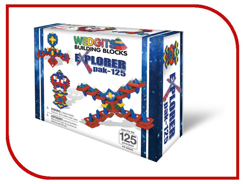 Конструктор Wedgits eXplorer Pak 125 дет. 300060 конструкторы wedgits starter activity kit конструктор