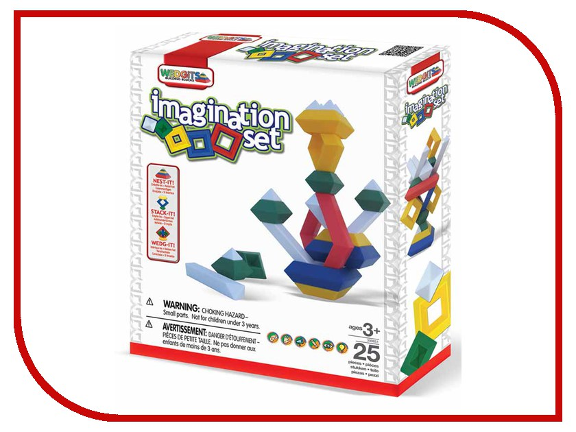 Игрушка Wedgits Imagination Set 15 дет. 300651<br>