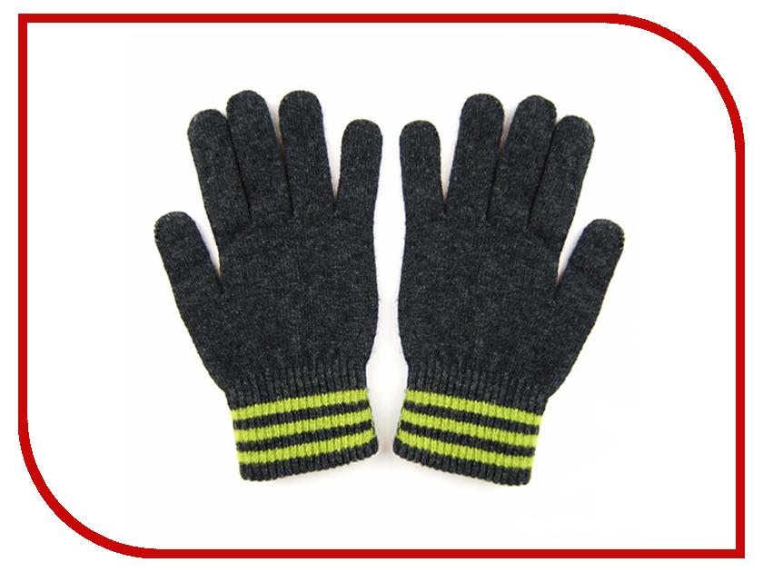 Теплые перчатки для сенсорных дисплеев iGloves V3 Dark Grey-Green Line<br>