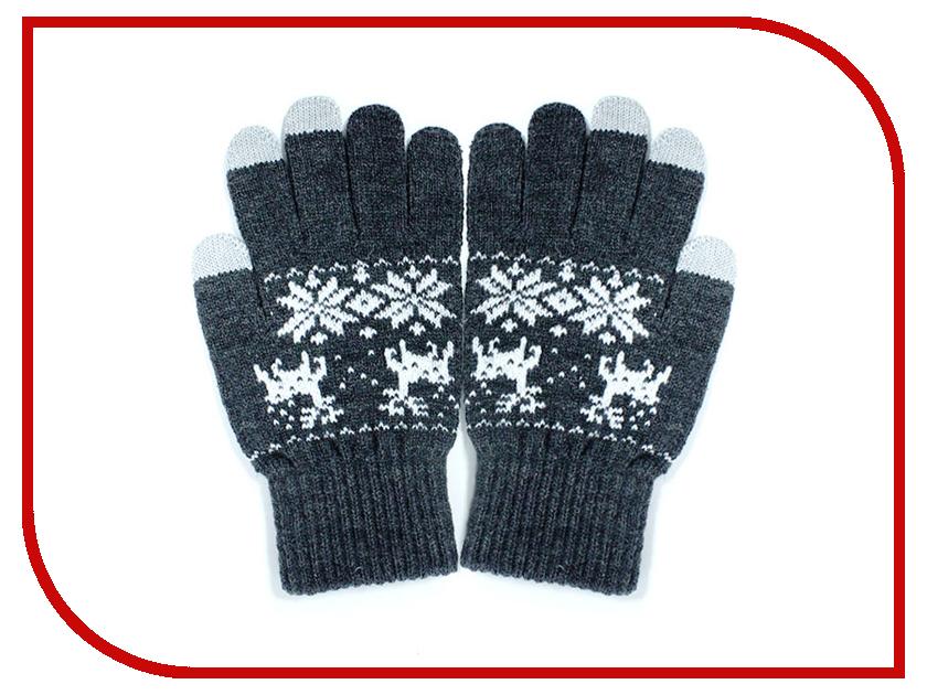 Теплые перчатки для сенсорных дисплеев iGloves P4 Grey deer<br>