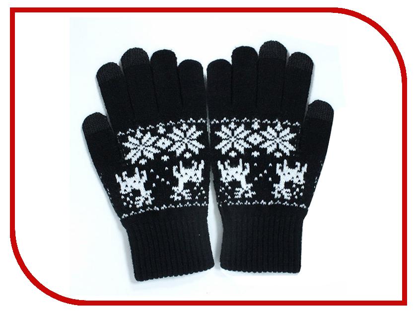 Теплые перчатки для сенсорных дисплеев iGloves P3 Black deer