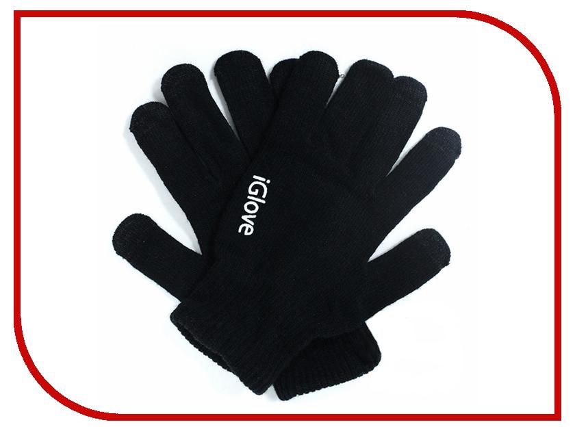 Теплые перчатки для сенсорных дисплеев iGlove R2 Black