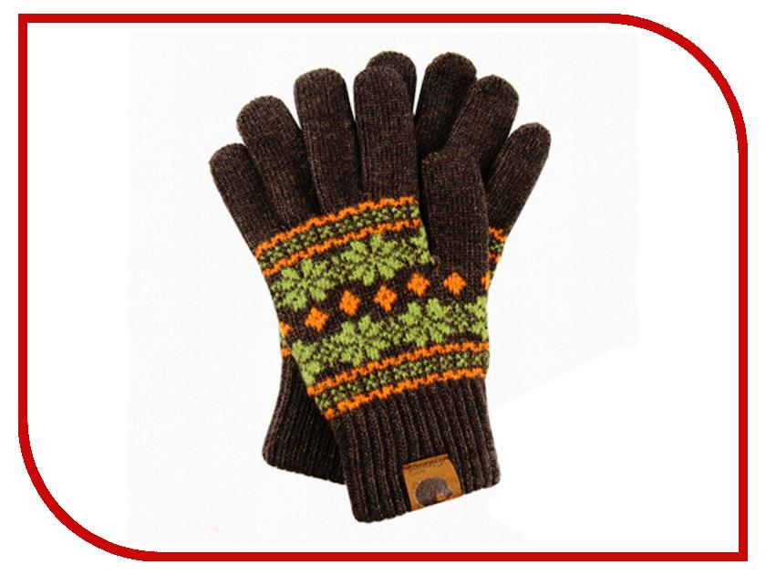 Теплые перчатки для сенсорных дисплеев iGloves G13 Brown-Orange<br>