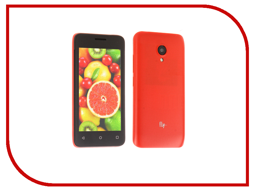 Сотовый телефон Fly FS407 Stratus 6 Dual Sim Red fly ezzy5