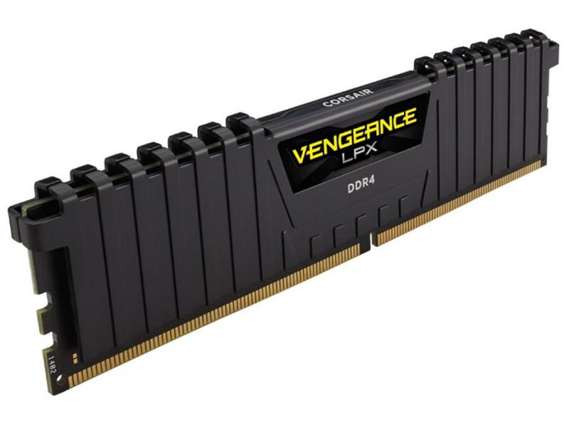 Модуль памяти Corsair Vengeance LPX DDR4 DIMM 2400MHz PC4-19200 CL14 - 8Gb CMK8GX4M1A2400C14 / CMK8GX4M1A2400C14R