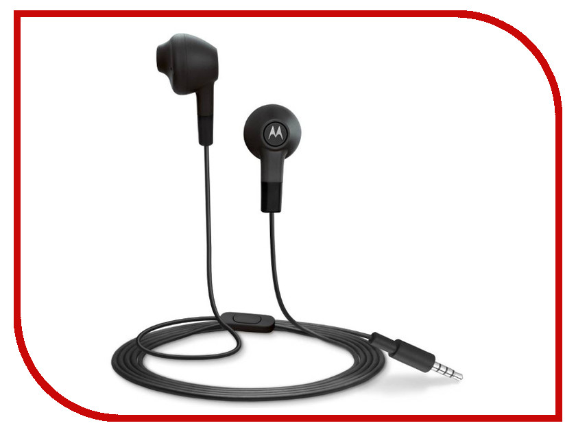 Гарнитура Motorola Moto Earbuds Black<br>