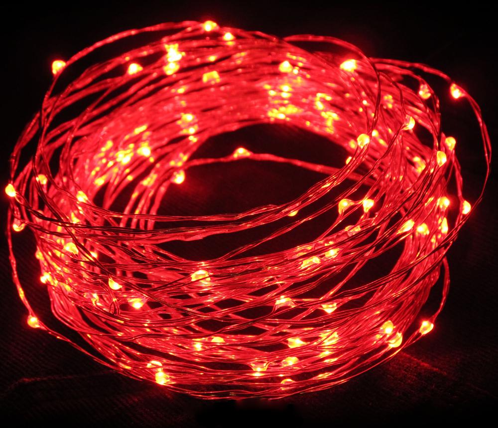 Гирлянда SnowHouse Red LDM100-R-C