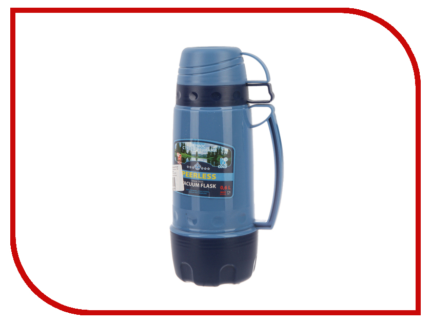 Термос Peerless PEE 060 600ml Blue