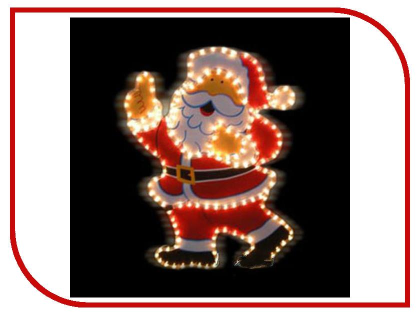 Новогодний сувенир SnowHouse Счастливый Дед Мороз I-R-PP5HSA