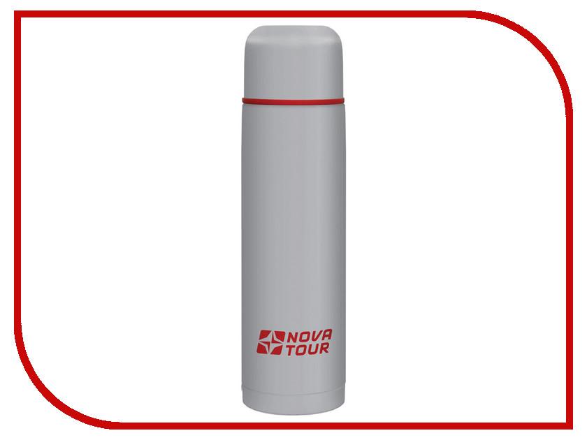 Термос Nova Tour Титаниум 750 Grey-Red 95918-055-00 термос nova tour титаниум цвет серый красный 0 5 л