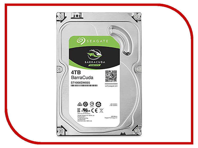 Жесткий диск 4Tb - Seagate ST4000DM005 жесткий диск 4tb seagate st4000vm000 video 3 5