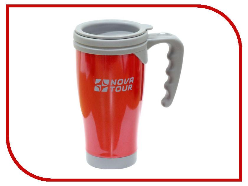 Термокружка Nova Tour Сильвер 400 Red-Grey 95920-059-00