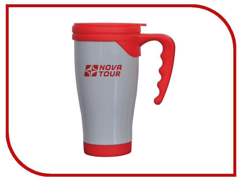 Термокружка Nova Tour Сильвер 400 Grey-Red 95920-055-00<br>