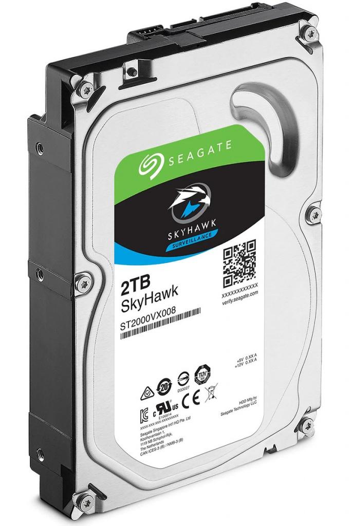 Жесткий диск Seagate SkyHawk 2Tb ST2000VX008