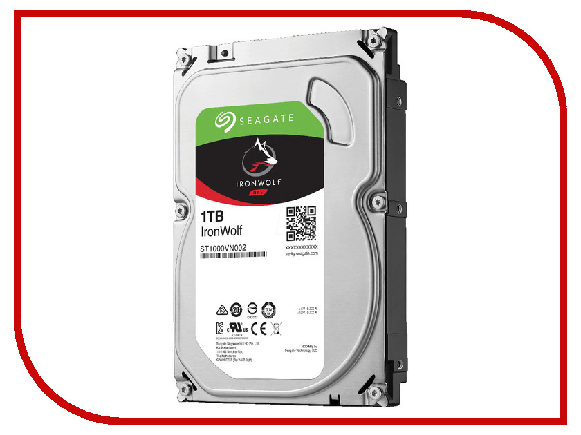 Жесткий диск 1Tb - Seagate IronWolf ST1000VN002 st1000vn002 seagate