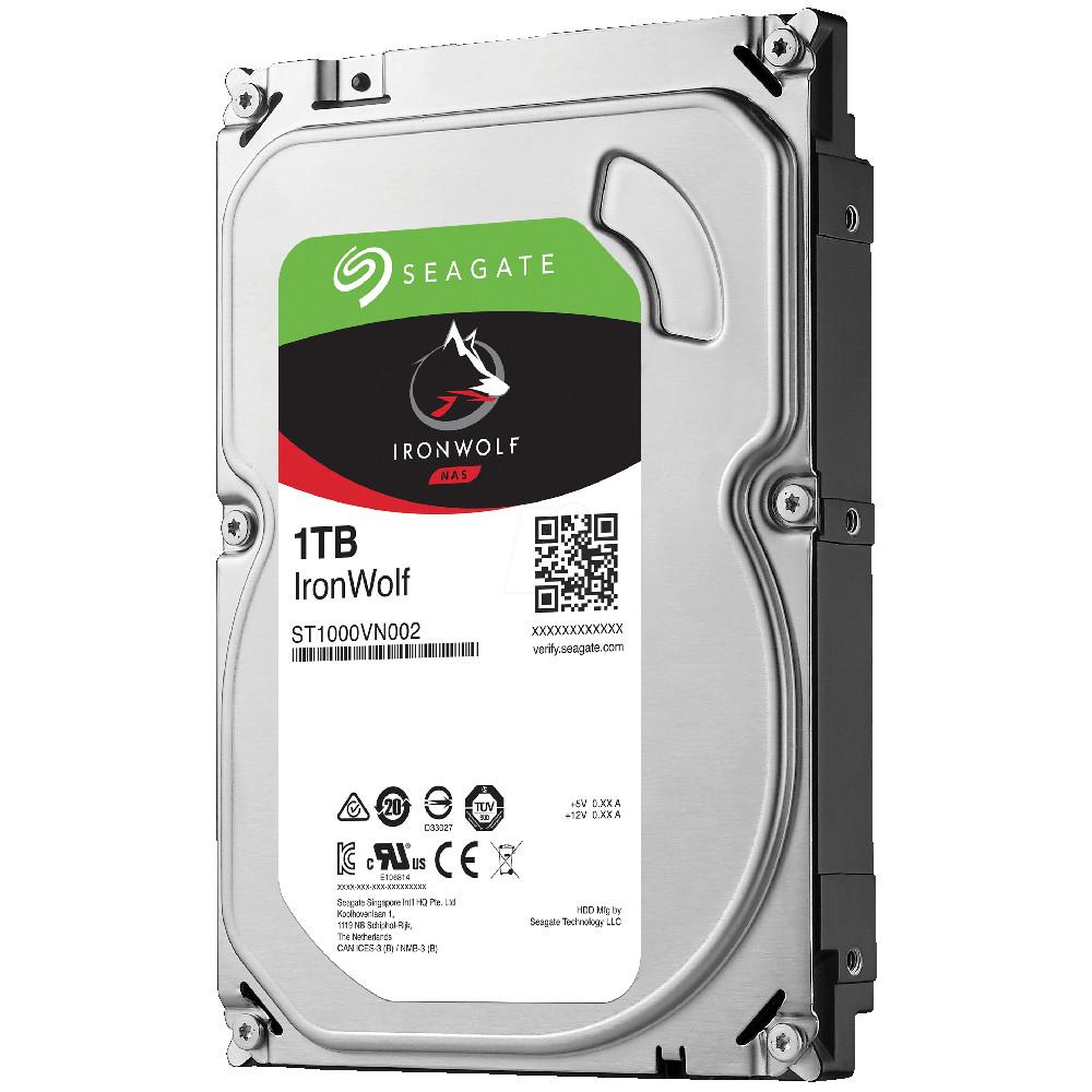Жесткий диск Seagate IronWolf 1Tb ST1000VN002
