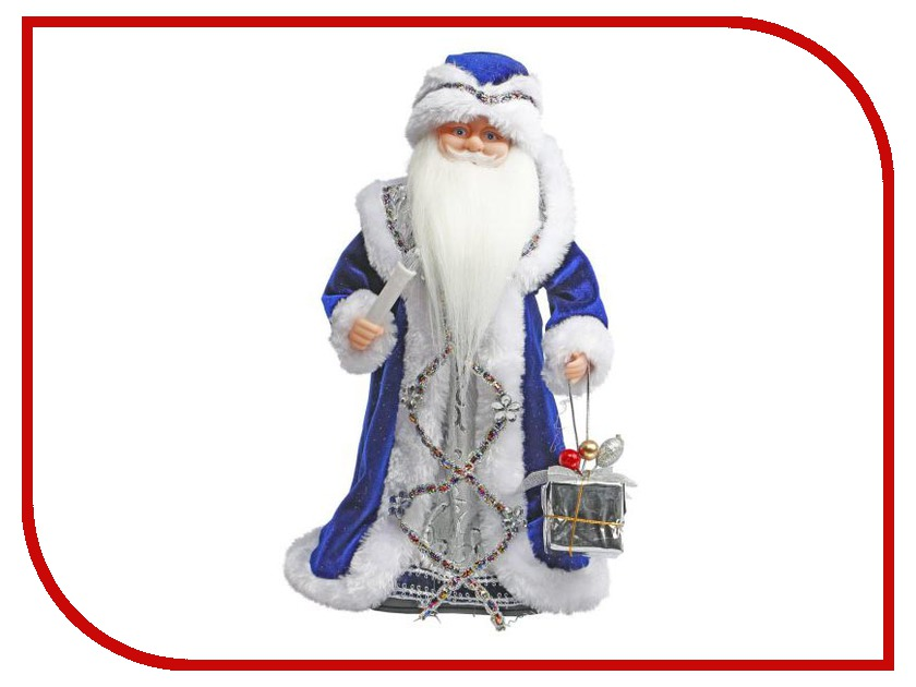 Новогодний сувенир Новогодняя Сказка Дед Мороз Blue 972610<br>