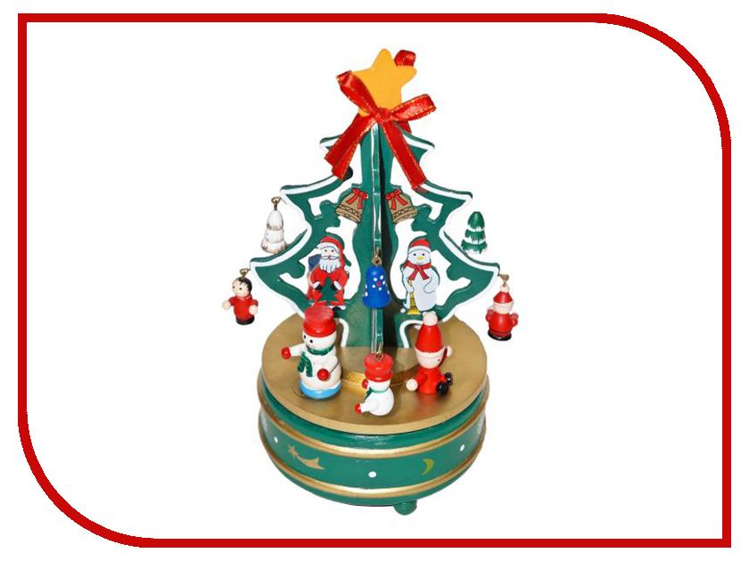 Механическая игрушка Новогодняя Сказка Карусель 97965