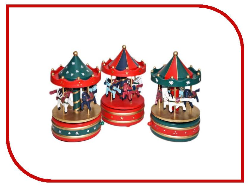 Механическая игрушка Новогодняя Сказка Карусель 97966<br>