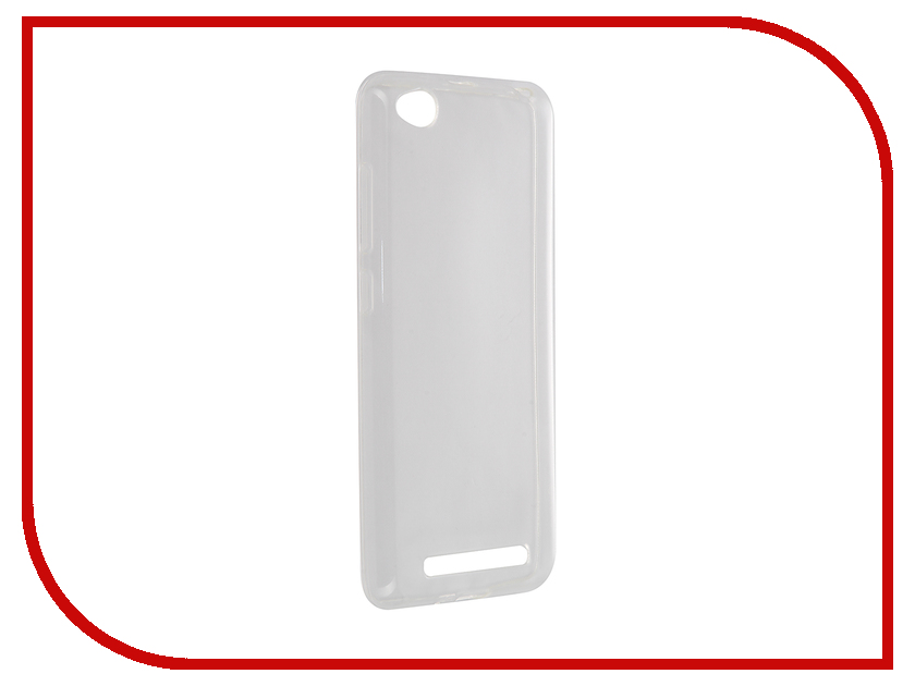 Аксессуар Чехол Xiaomi Redmi 3 Partner Silicone 0.6mm Transparent ПР036545<br>