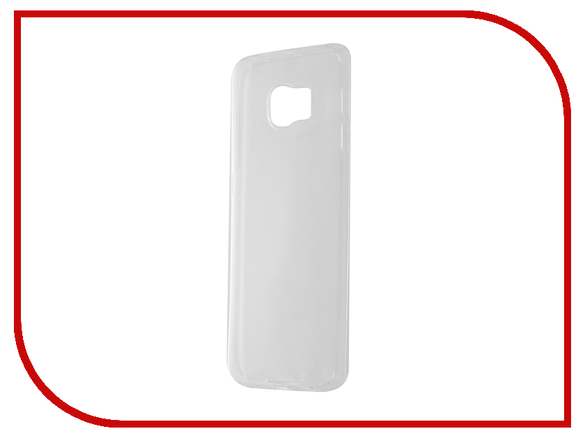 Аксессуар Чехол Samsung Galaxy S6 Edge Partner Silicone 0.6mm Transparent ПР036537<br>