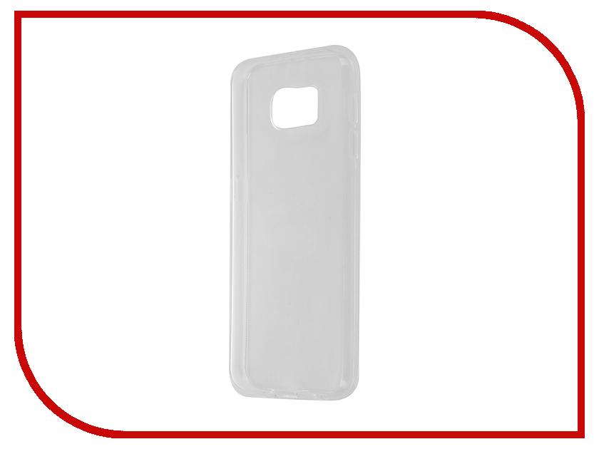 Аксессуар Чехол Samsung Galaxy S6 Partner Silicone 0.6mm Transparent ПР036536<br>
