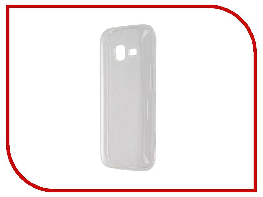 Аксессуар Чехол Samsung Galaxy J1 mini 2016 Partner Silicone 0.6mm Transparent ПР036542<br>