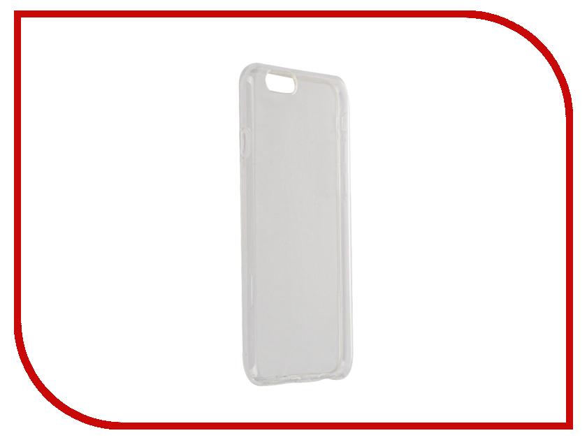 Аксессуар Чехол Partner Silicone для APPLE iPhone 6 0.6mm Transparent ПР036533<br>