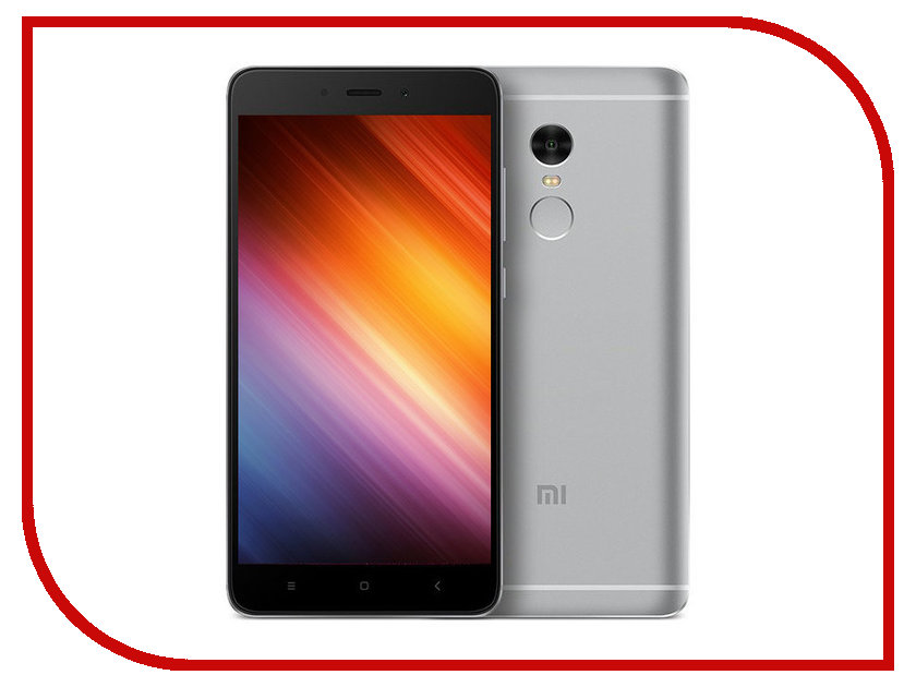 Сотовый телефон Xiaomi Redmi Note 4 32Gb+3Gb Grey package xiaomi redmi note 4 3gb 32gb smartphone silver
