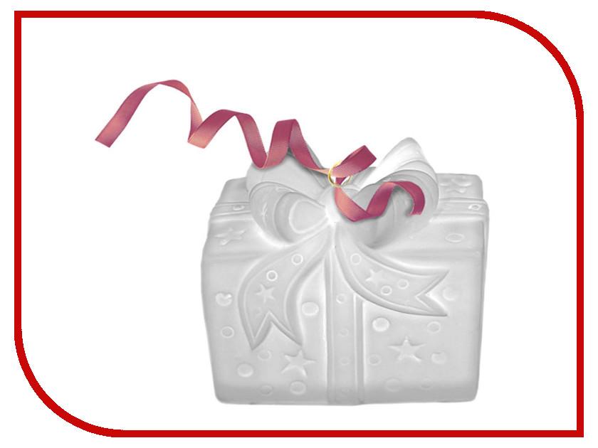 Украшение Новогодняя Сказка LED Подарок 9.8х7.6см White 972063<br>