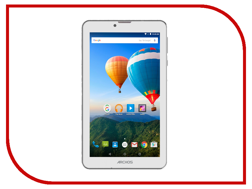 Планшет Archos 70 Xenon Color (MediaTek MT8321 1.3 GHz/1024Mb/8gb/GPS/Wi-Fi/Bluetooth/Cam/7.0/1024x600/Android) планшет digma plane 1505 3g black ps1083mg mediatek mt8321 1 3 ghz 1024mb 8gb gps 3g wi fi bluetooth cam 10 1 1280x800 android 394172