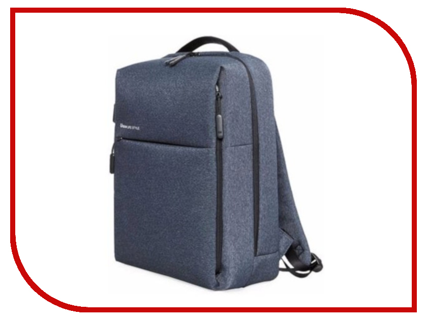 Рюкзак Xiaomi Simple Urban Life Style Backpack Dark Blue