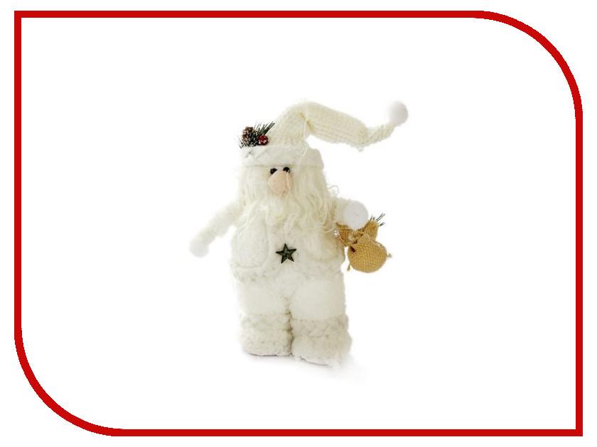 Игрушка Новогодняя Сказка Дед Мороз 33см White 972389 мягкие игрушки новогодняя сказка кукла дед мороз 45 см серебро