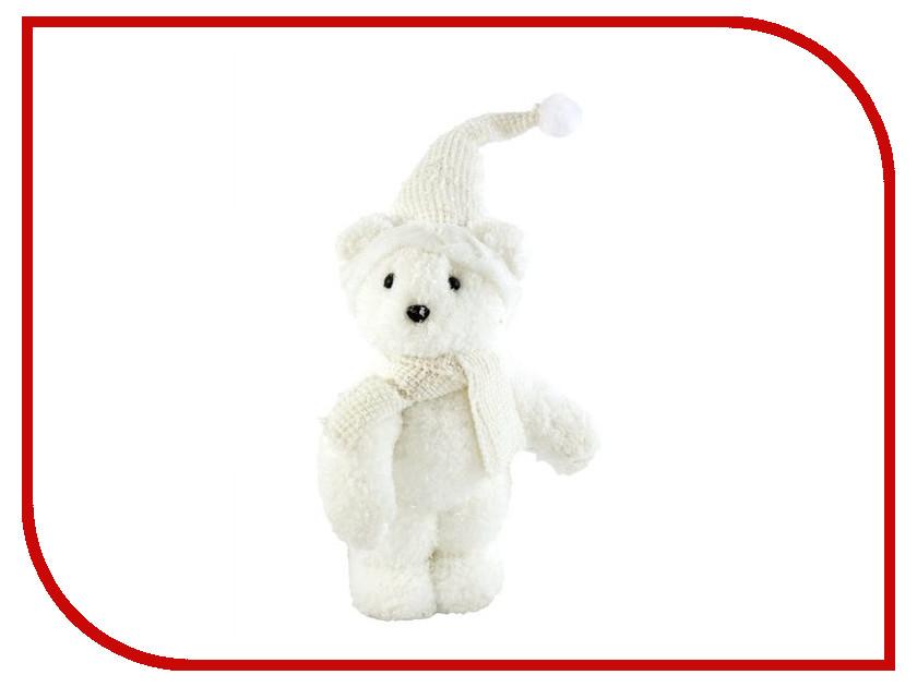 Новогодний сувенир Новогодняя Сказка Мишка 30см White 972381<br>