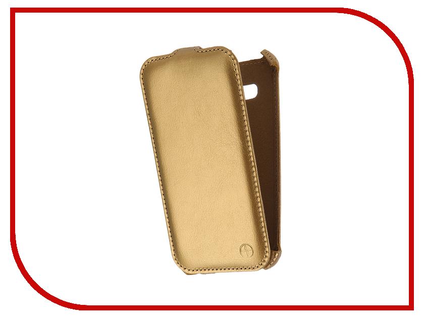 Аксессуар Чехол Samsung Galaxy J3 2016 Pulsar Shellcase Gold PSC0917<br>