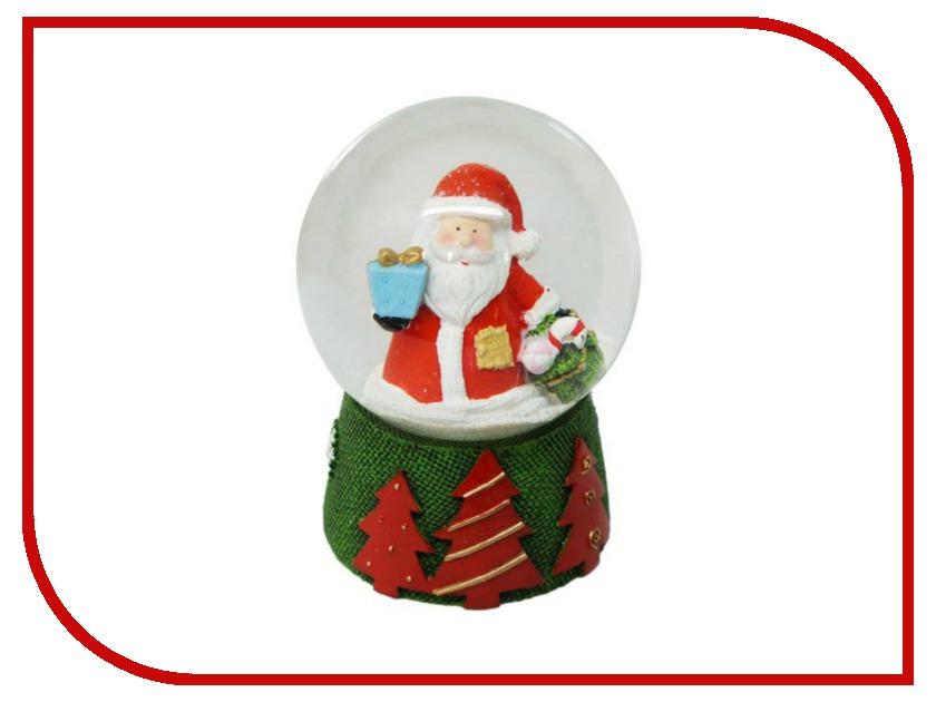 Снежный шар Новогодняя Сказка Дед Мороз 8см 972493 игрушка новогодняя сказка дед мороз 25см blue 949200