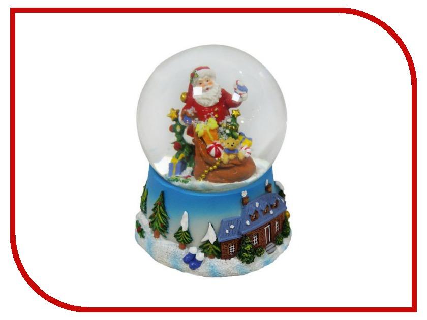 Снежный шар Новогодняя Сказка Дед Мороз с подарками 10см 972480<br>