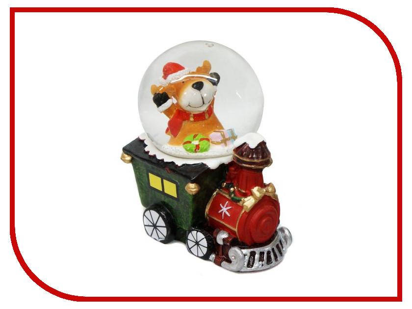 Снежный шар Новогодняя Сказка Паровоз 4.5см 972490<br>