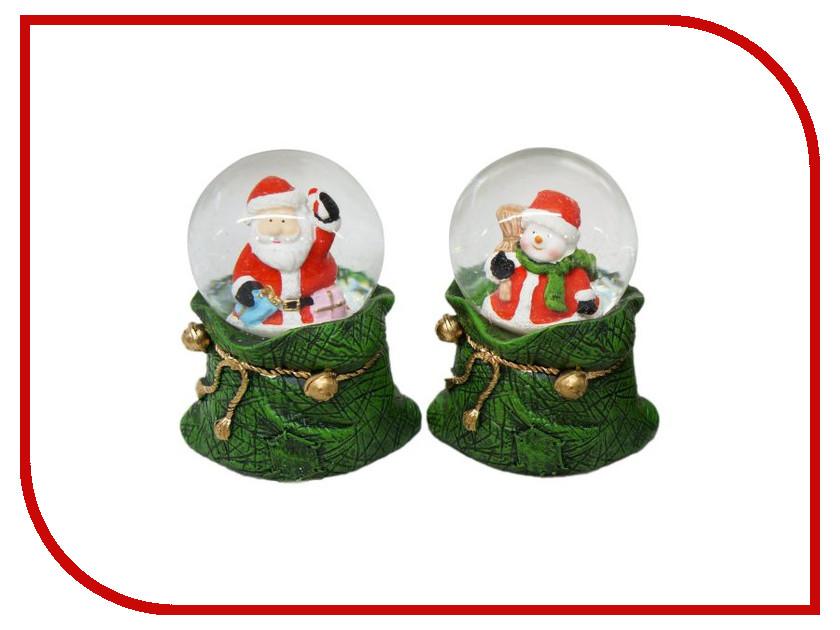 Снежный шар Новогодняя Сказка Подарок 4.5см 972489<br>