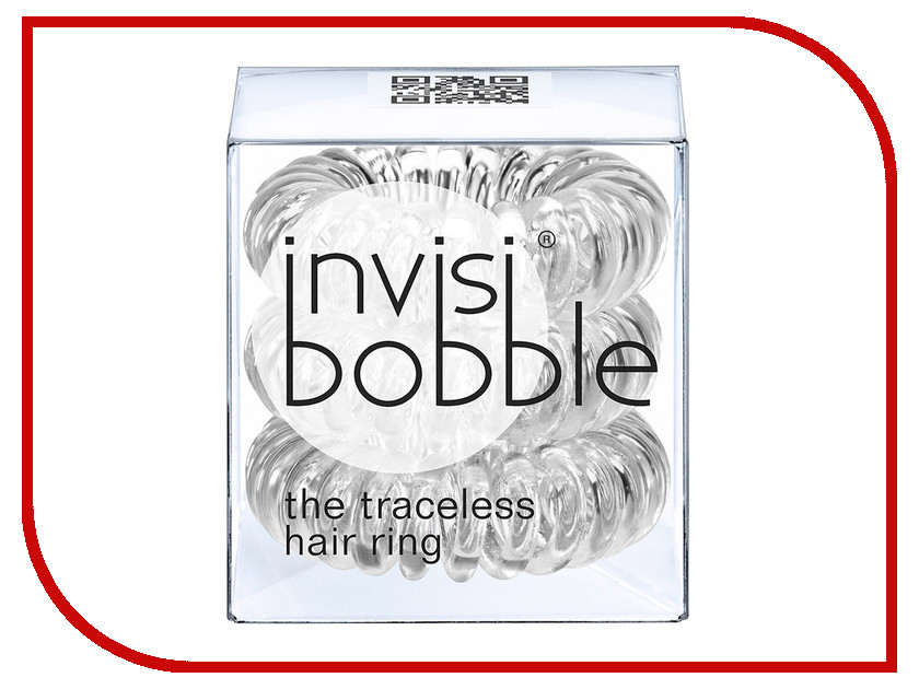 Резинка для волос Invisibobble Crystal Clear 3 штуки