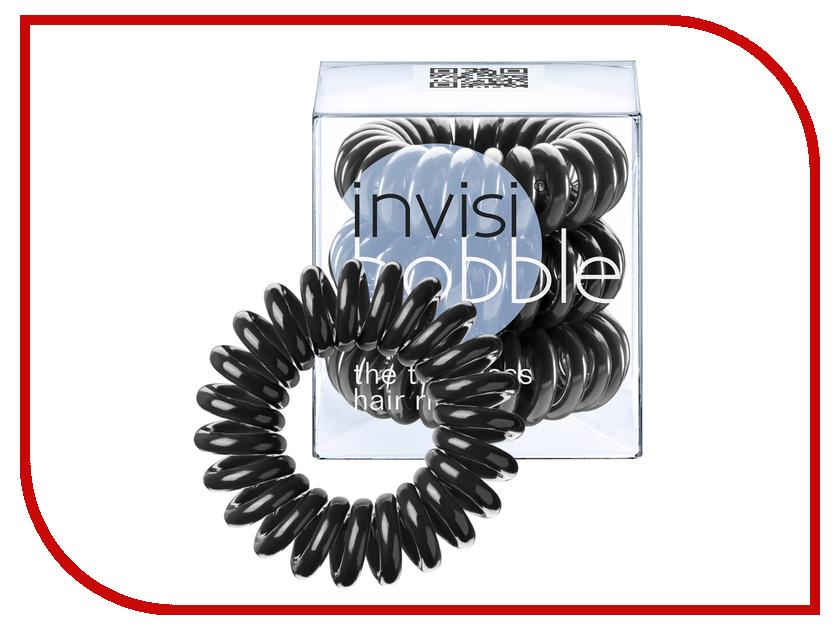 Резинка для волос Invisibobble True Black 3 штуки резинки invisibobble резинка браслет для волос nano true black цвет true black variant hex name 2f2f2f